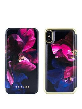 Ted Baker Ted Baker Mirror Folio Case Iphone X &Ndash; Sheleen -  ... Picture