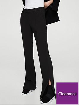 mango-split-leg-trouser