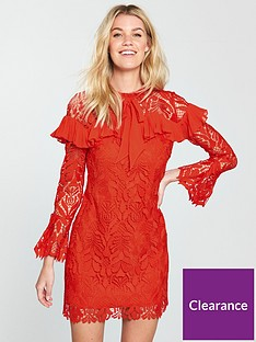 v-by-very-lace-bow-tie-tunic-dress
