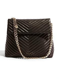 karen-millen-chevron-quilted-collection-shoulder-bag