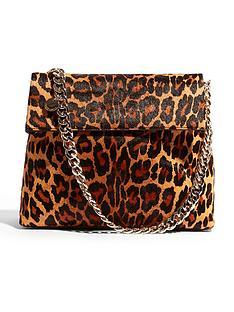 karen-millen-leopard-regent-shoulder-bag
