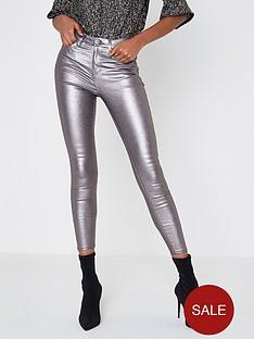 river-island-river-island-amelie-hologram-skinny-jeans--silver