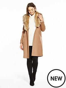 river-island-faux-fur-collar-coat--camel