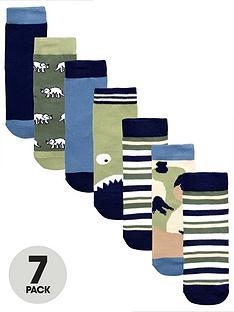v-by-very-boys-7-pack-dinosaur-socks
