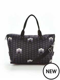 orla-kiely-buttercup-stem-zip-holdall