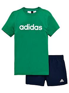adidas-boy-tee-and-short-set