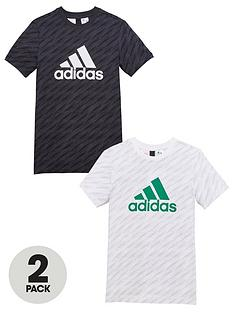 adidas-boys-2-pack-tee-blackwhitenbsp
