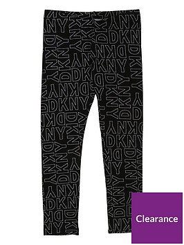 dkny-girls-logo-printed-leggings