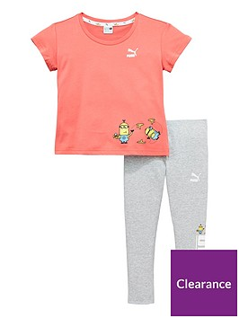 puma-girls-minions-tee-and-legging-set