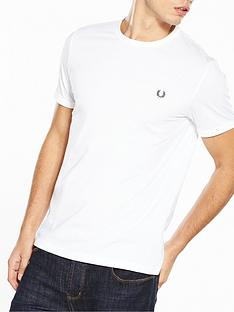 fred-perry-ringer-t-shirt-white