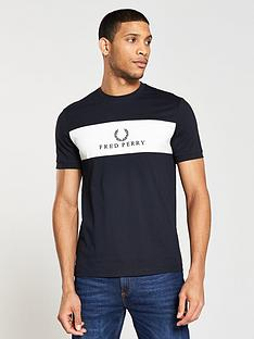fred-perry-panel-embroidered-t-shirt