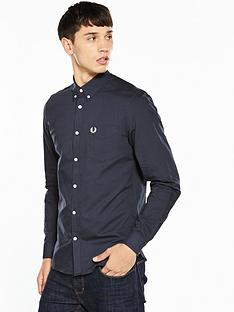 fred-perry-classic-long-sleeve-oxford-shirt