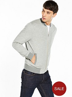fred-perry-bomber-neck-zip-through-sweat