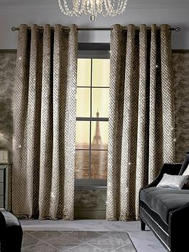 Kylie Minogue Kylie Minogue Grazia Lined Eyelet Curtains Picture