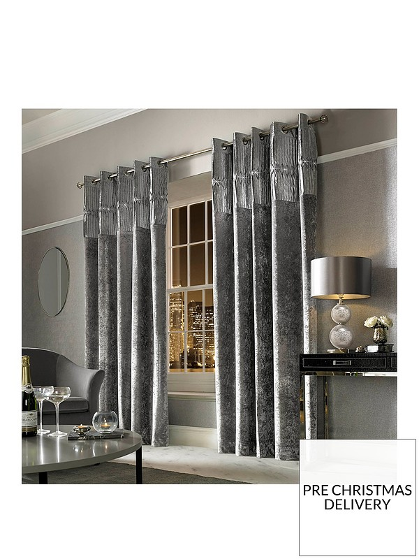 Veda Eyelet Curtains
