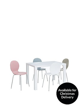 atlantic-120-cm-gloss-dining-table-4-roma-chairs