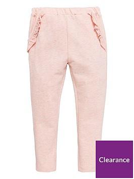 mini-v-by-very-girls-lurex-ruffle-jogger-pink