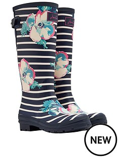 joules-joules-printed-tall-adjustable-poppy-stripe-welly