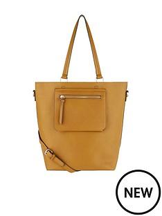 accessorize-molly-grey-zip-tote-bag