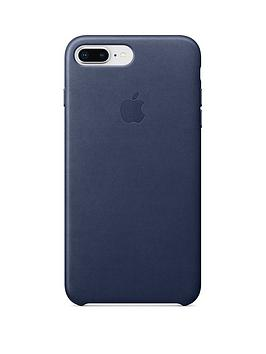 Apple Iphone 8 Plus 7 Plus Leather Case Blue cheapest retail price
