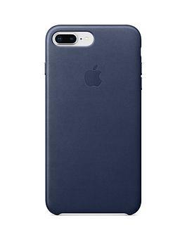Buy Brand New Apple Iphone 8 Plus 7 Plus Leather Case Blue