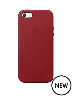 apple-iphone-se-leather-case-red