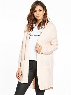 miss-selfridge-cocoon-cardigan-pink