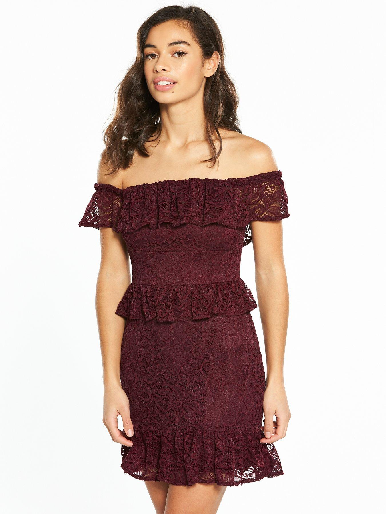 Beaded lace pencil dress miss selfridge