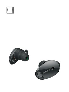 sony-wf-1000x-truly-wireless-in-ear-noise-cancelling-headphones-black