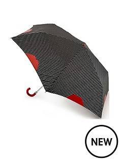 lulu-guinness-lulu-guinness-superslim-pinstripe-lip-umbrella