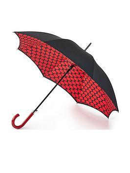 Lulu Guinness Lulu Guinness Lulu Guinness Bloomsbury Lips Grid Umbrella Picture