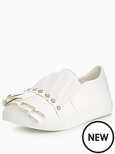lost-ink-lost-ink-ruffle-and-stud-wide-fit-slip-on-trainer