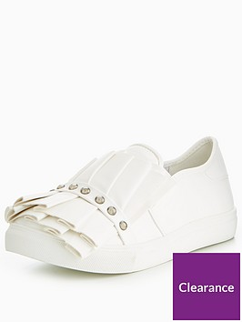 lost-ink-ruffle-and-stud-wide-fit-slip-on-trainer