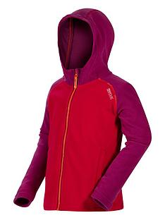 regatta-regatta-girls-upflow-hooded-fleece-jacket