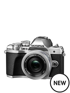 olympus-om-d-e-m10-mark-iii-161mpnbsp4k-camera-silver-with-mzuiko-14-42mm-ez-pancake-lens