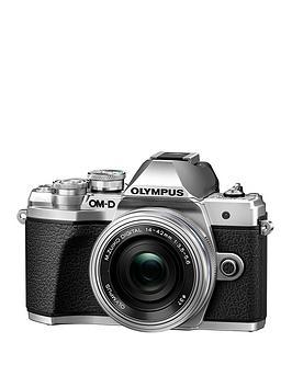 olympus-om-d-e-m10-mk-iii-camera-mzuiko-14-42mm-ez-pancake-lens-kit--nbspsave-pound40-with-voucher-code-mjxam