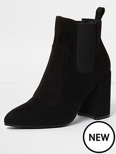 river-island-smart-point-boot--black