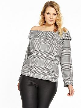 v-by-very-curve-deconstructed-blouse
