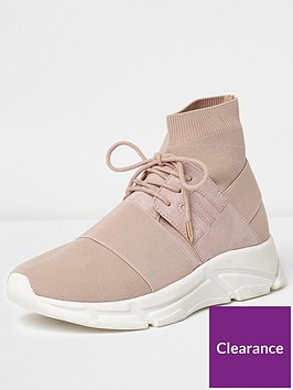 river-island-ankle-sock-runner
