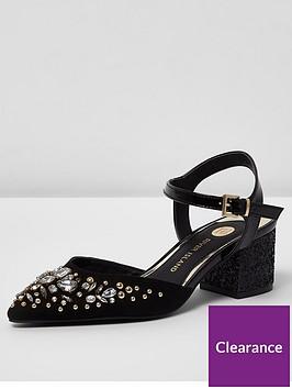 river-island-river-island-embellished-pointed-block-heel-sandal--black