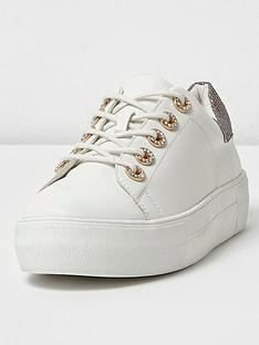 river-island-diamonte-lace-up-trainers