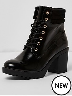 river-island-ikra-lace-up-chunky-boot