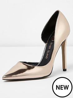 river-island-pointed-high-heel--gold