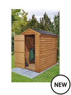 forest-overlap-dip-treated-6x4-apex-shed-with-easy-fit-roof-no-windows
