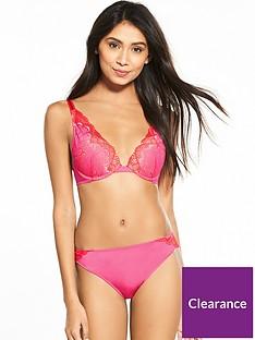 468d685a94 Wonderbra Refined Glamour Brazilian Brief - Pink