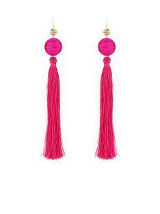 v-by-very-oversized-statement-tassel-earrings-pink
