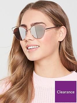 v-by-very-butterflynbspframe-mirror-lens-sunglasses-rose-gold