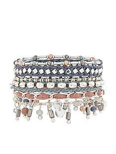 accessorize-accessorize-sleek-silver-eclectic-bracelet