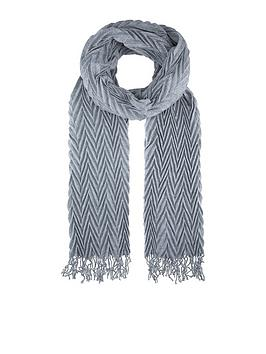 accessorize-lena-pleated-scarf-grey