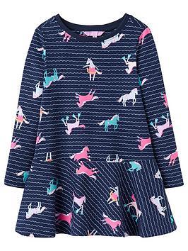 joules-josie-jersey-sea-pony-trapeze-dress